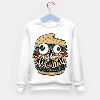 Hamburger Monster Kid's sweater Bild der Miniatur