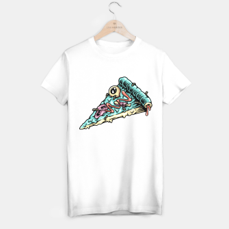 Thumbnail image of Pizza Zombie T-shirt regular, Live Heroes