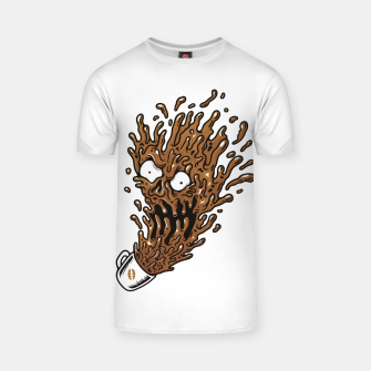 Miniatur Coffee Monster T-shirt, Live Heroes