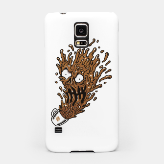 Miniatur Coffee Monster Samsung Case, Live Heroes