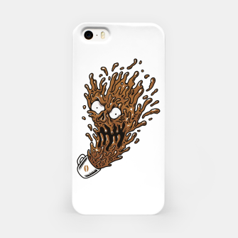 Miniatur Coffee Monster iPhone Case, Live Heroes