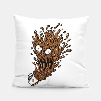 Miniatur Coffee Monster Pillow, Live Heroes