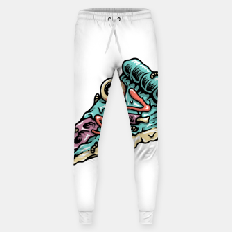 Thumbnail image of Pizza Zombie Sweatpants, Live Heroes