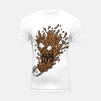 Coffee Monster Shortsleeve rashguard Bild der Miniatur
