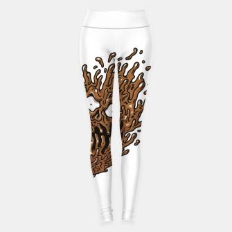 Coffee Monster Leggings Bild der Miniatur