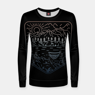 Thumbnail image of Canoe Women sweater, Live Heroes