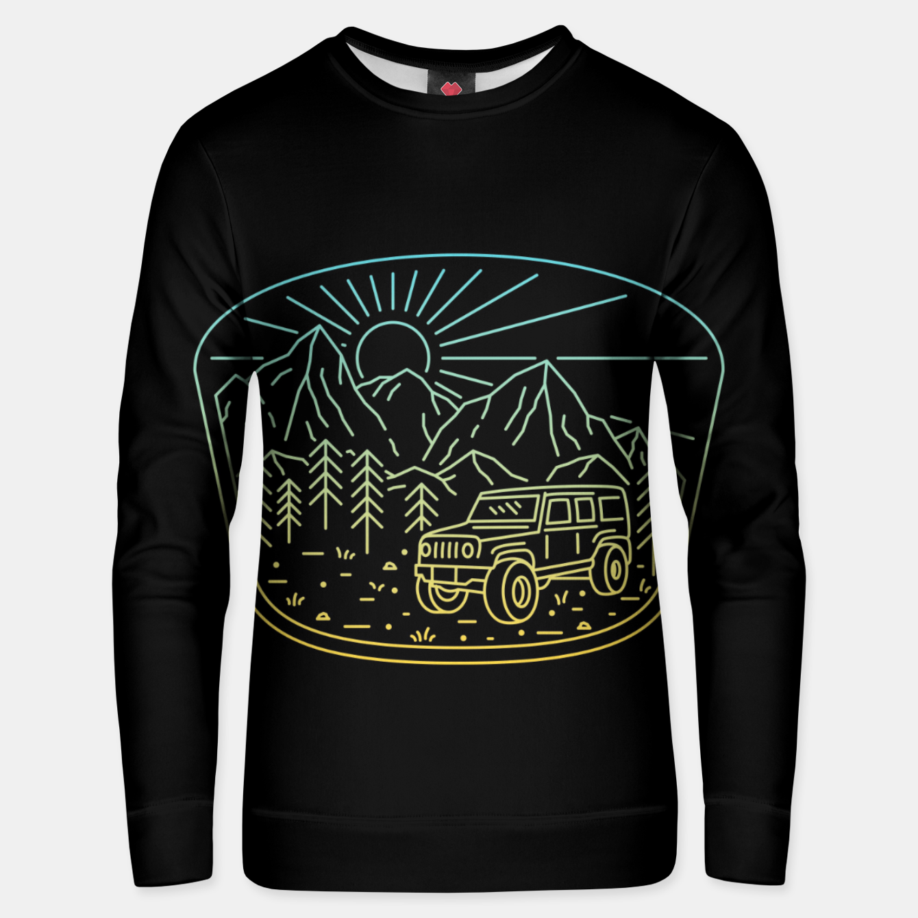 Foto Expedition Unisex sweater - Live Heroes
