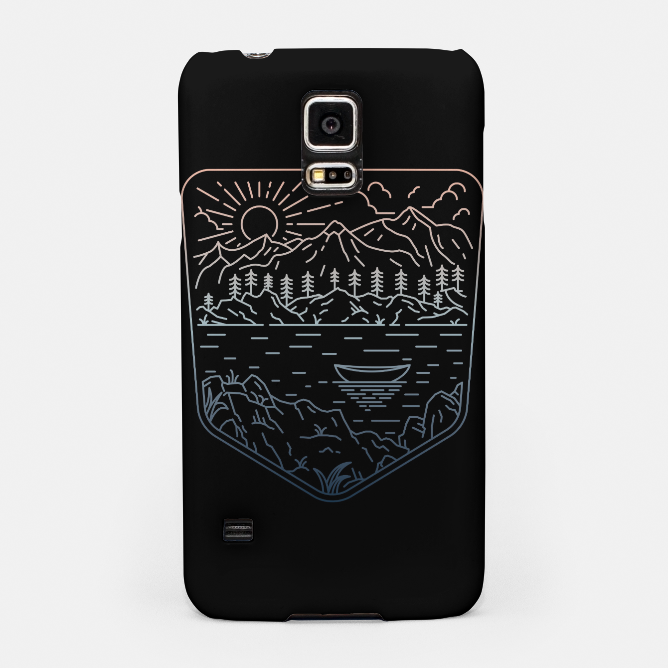 Image of Canoe Samsung Case - Live Heroes