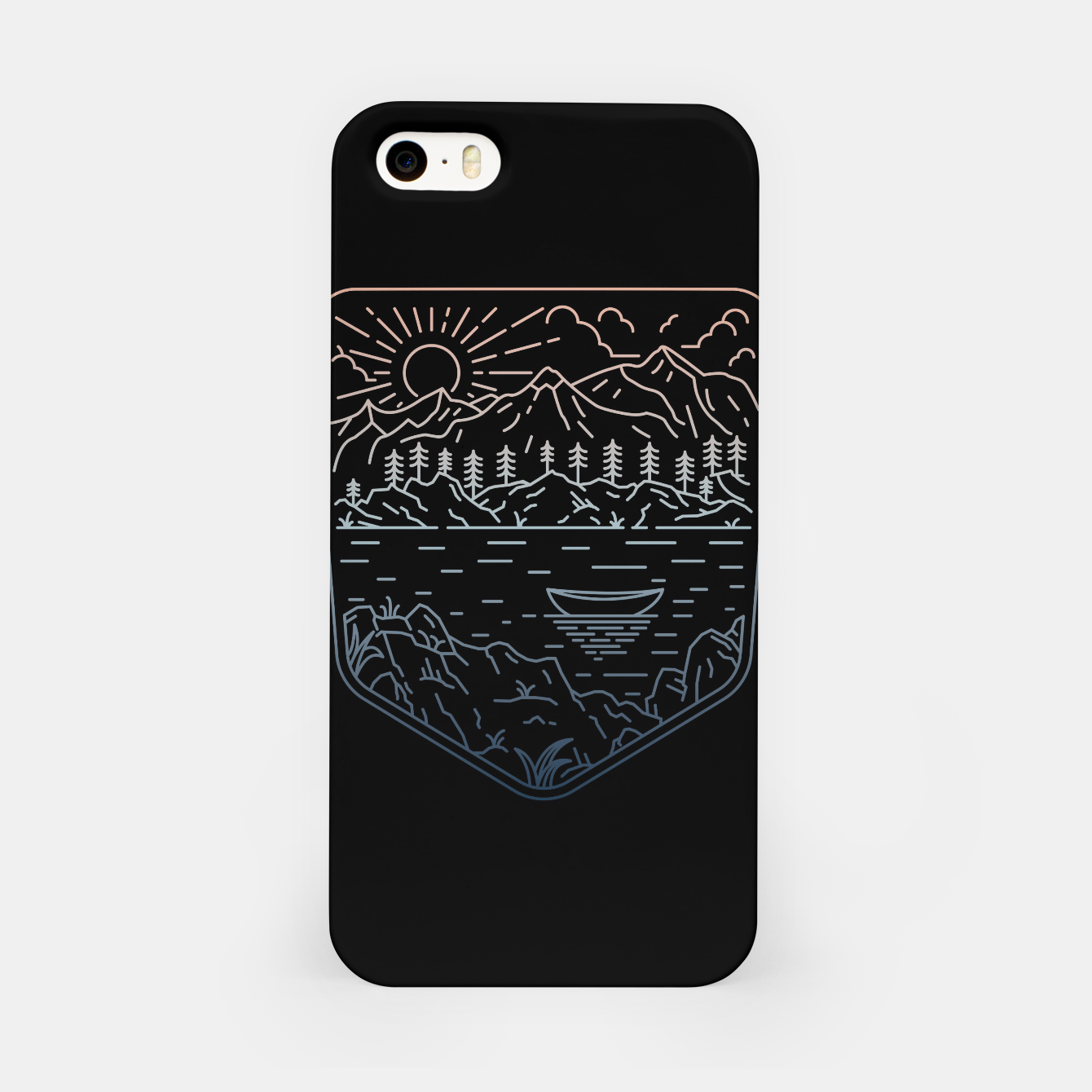 Foto Canoe iPhone Case - Live Heroes