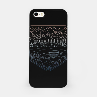 Miniatur Canoe iPhone Case, Live Heroes
