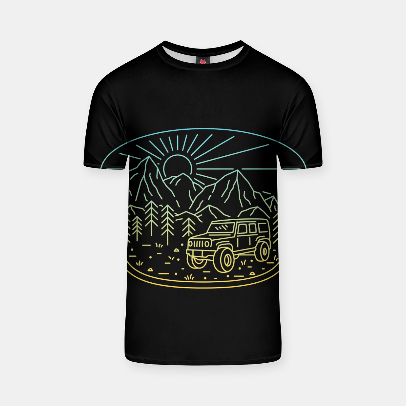 Foto Expedition T-shirt - Live Heroes