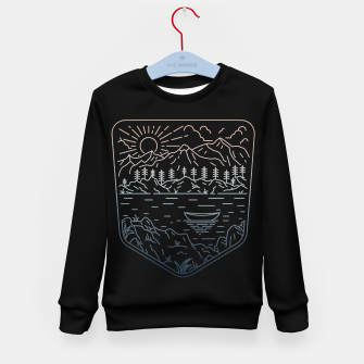 Thumbnail image of Canoe Kid's sweater, Live Heroes