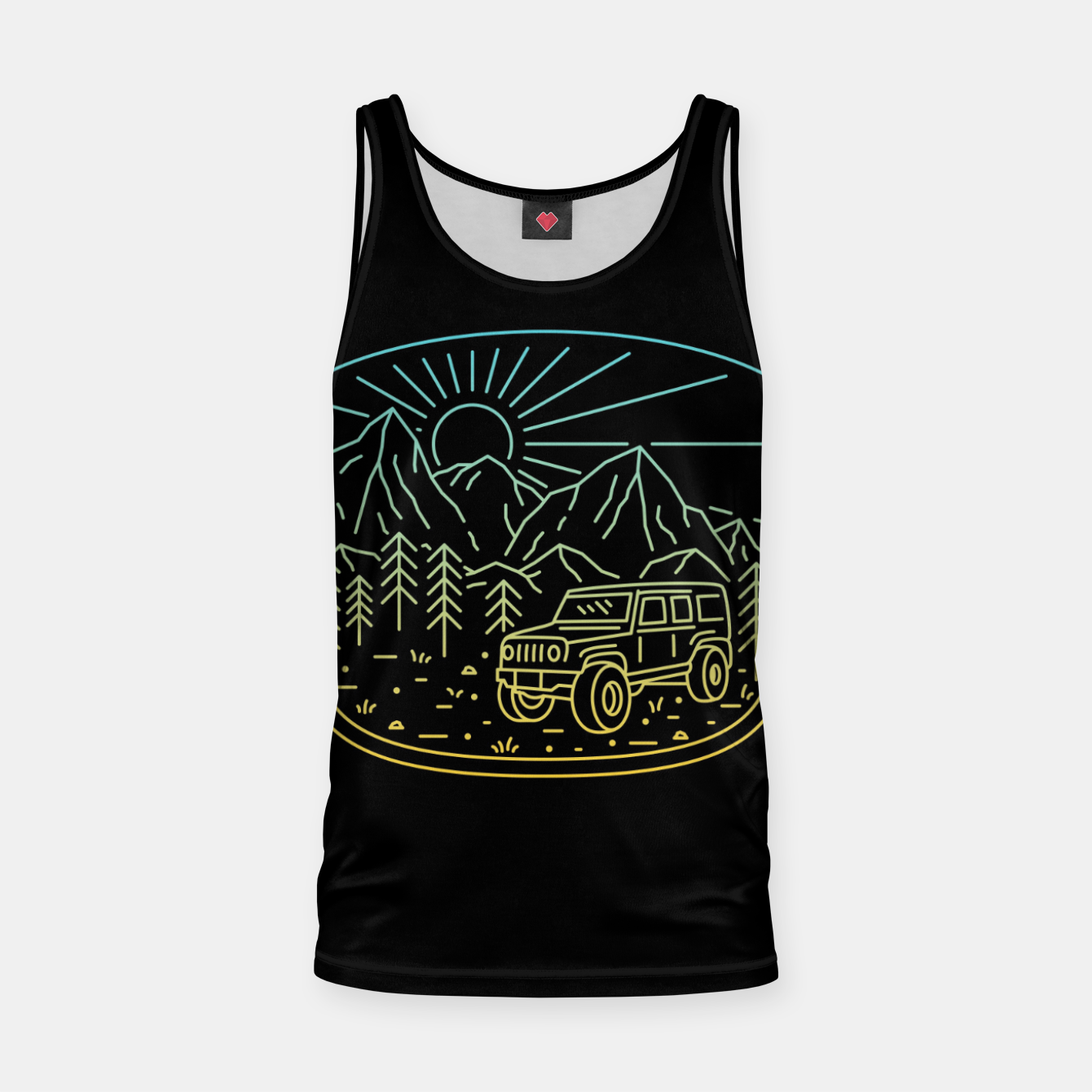 Image of Expedition Tank Top - Live Heroes