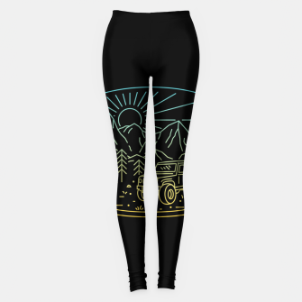 Miniatur Expedition Leggings, Live Heroes