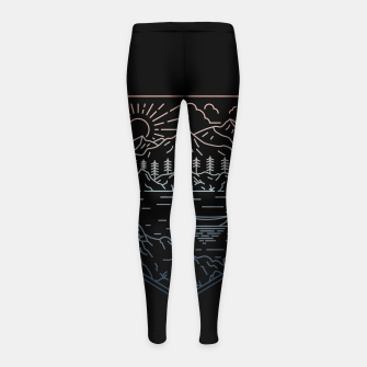 Thumbnail image of Canoe Girl's leggings, Live Heroes