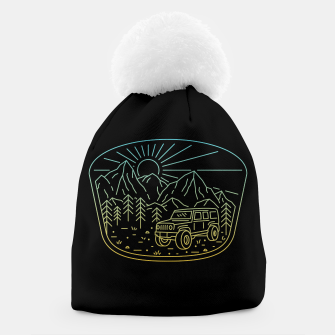 Miniatur Expedition Beanie, Live Heroes