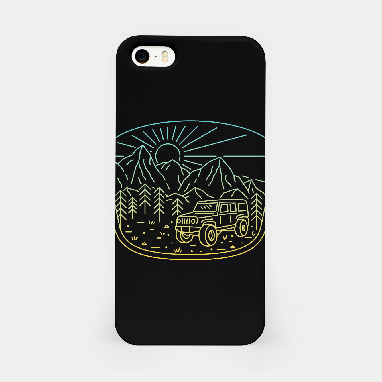 Foto Expedition iPhone Case - Live Heroes