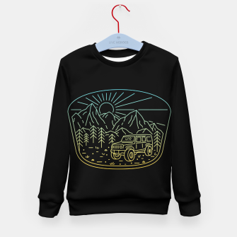 Miniatur Expedition Kid's sweater, Live Heroes