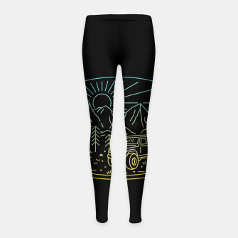 Miniatur Expedition Girl's leggings, Live Heroes