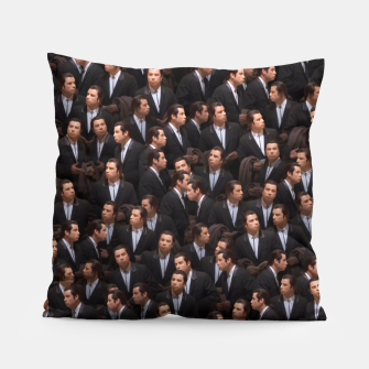 Thumbnail image of Travolta confused Pillow, Live Heroes