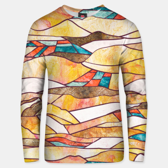 Miniatur Monegros Abstract landscape Sudadera unisex, Live Heroes