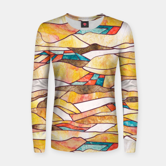 Miniatur Monegros Abstract landscape Sudadera para mujeres, Live Heroes
