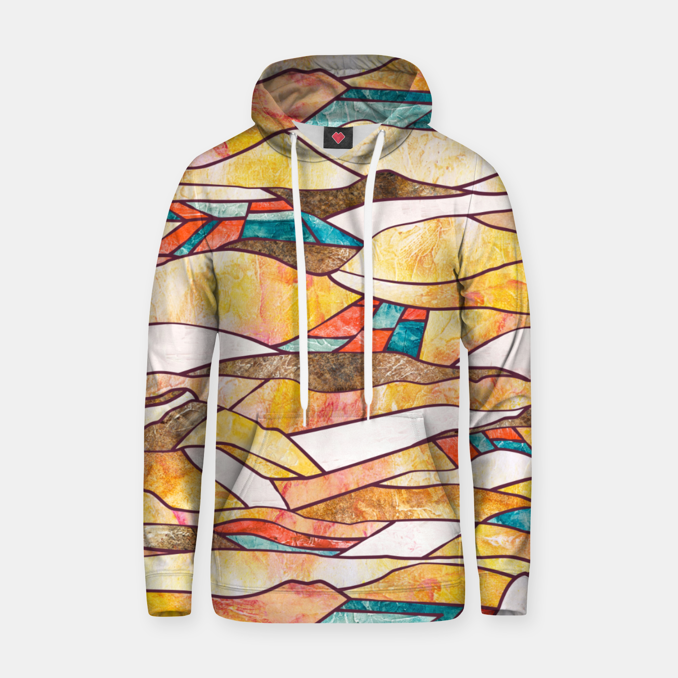 Foto Monegros Abstract landscape Sudadera con capucha - Live Heroes