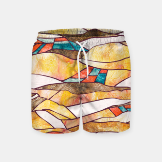 Thumbnail image of Monegros Abstract landscape Pantalones de baño, Live Heroes