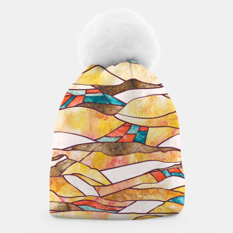 Monegros Abstract landscape Gorro Bild der Miniatur