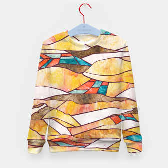 Thumbnail image of Monegros Abstract landscape Sudadera para niños, Live Heroes