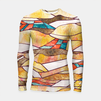 Thumbnail image of Monegros Abstract landscape Longsleeve rashguard, Live Heroes