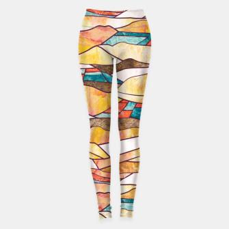Miniatur Monegros Abstract landscape Leggings, Live Heroes