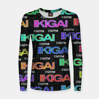 Thumbnail image of IKIGAI Women sweater, Live Heroes