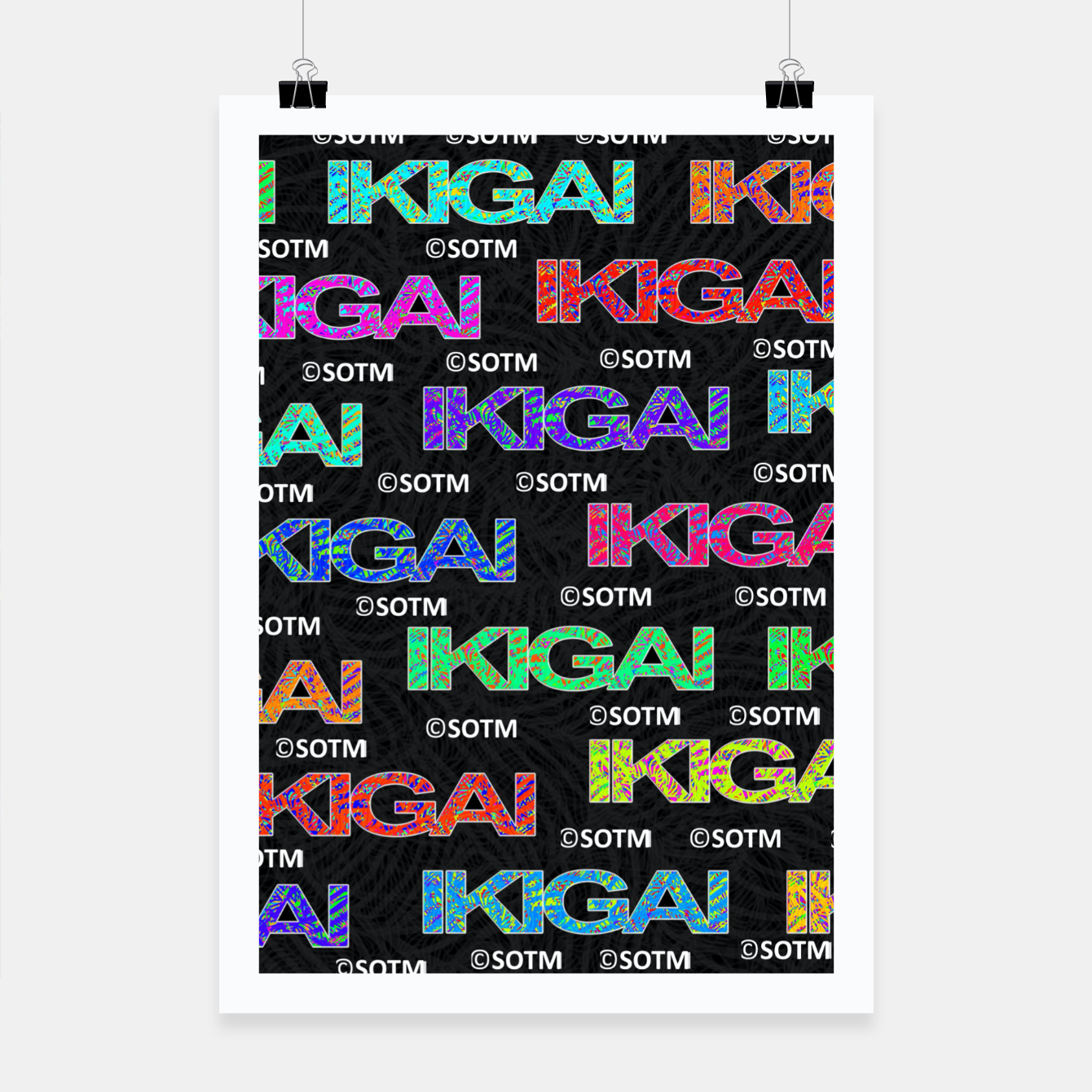 Image of IKIGAI Poster - Live Heroes