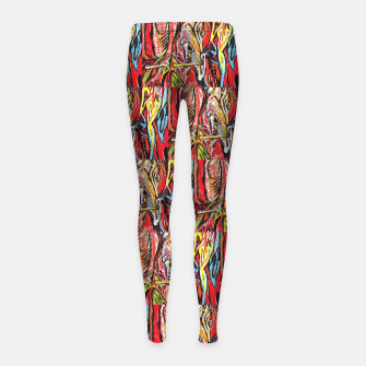 Imagen en miniatura de repeat defeat  Girl's leggings, Live Heroes