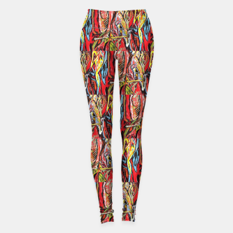 Imagen en miniatura de repeat defeat  Leggings, Live Heroes
