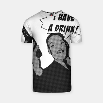 Thumbnail image of I HAVE A DRINK MLK Camiseta, Live Heroes