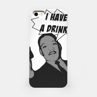 Miniatur I HAVE A DRINK MLK Carcasa por Iphone, Live Heroes