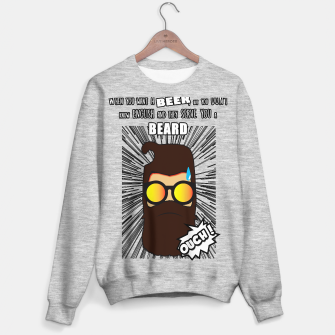 Miniature de image de BEER OR BEARD Sudadera regular, Live Heroes