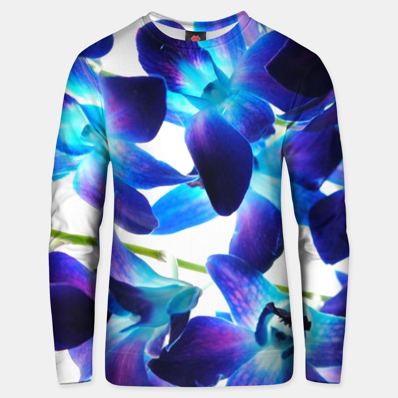 Image of Purple  Orchids Unisex sweater - Live Heroes