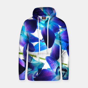 Thumbnail image of Purple  Orchids Hoodie, Live Heroes