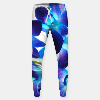 Purple  Orchids Sweatpants thumbnail image