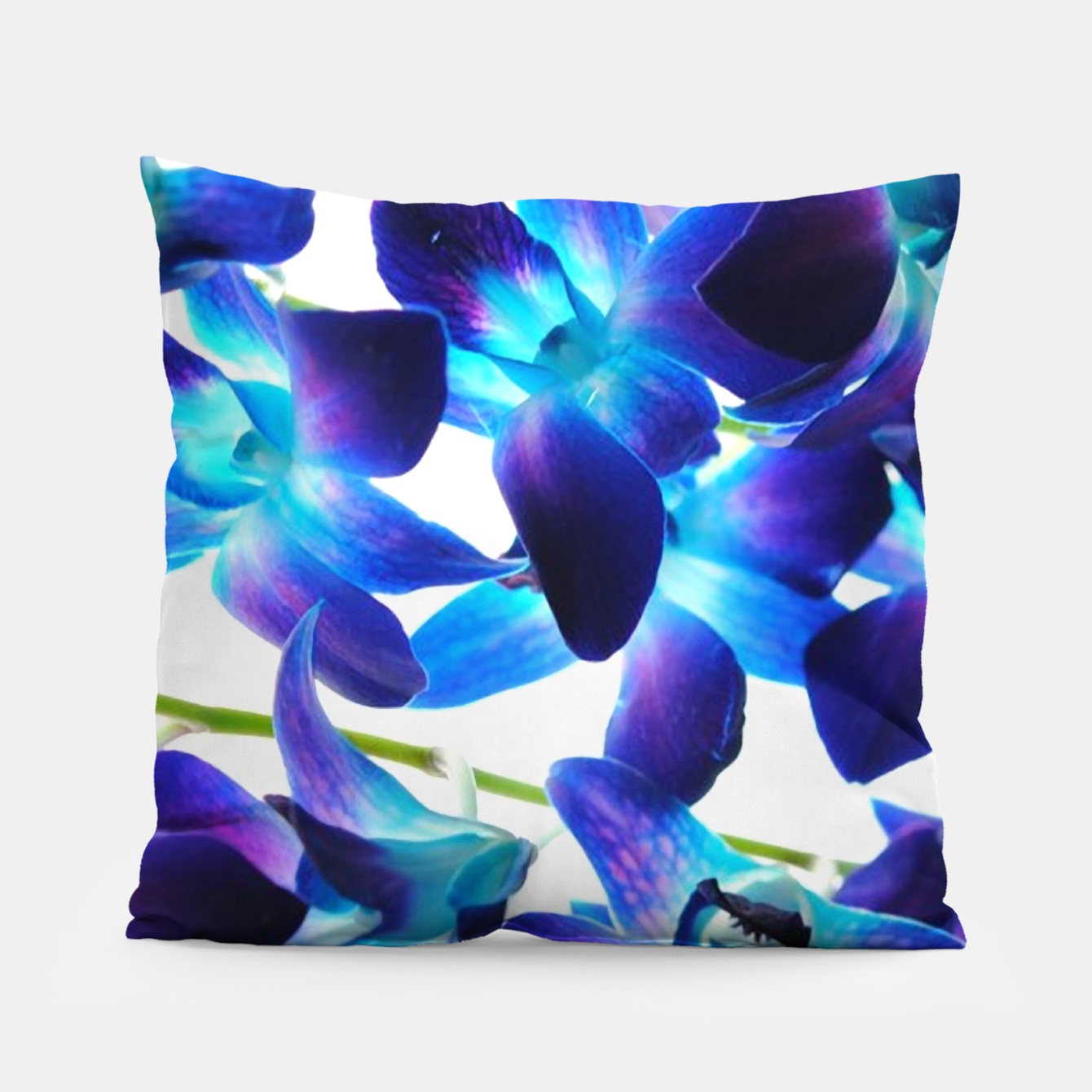 Image of Purple  Orchids Pillow - Live Heroes