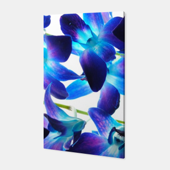 Thumbnail image of Purple  Orchids Canvas, Live Heroes