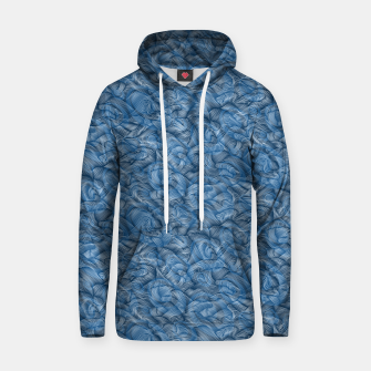 Thumbnail image of Ocean Waves in Classic Blue Hoodie, Live Heroes