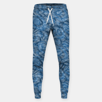 Thumbnail image of Ocean Waves in Classic Blue Sweatpants, Live Heroes