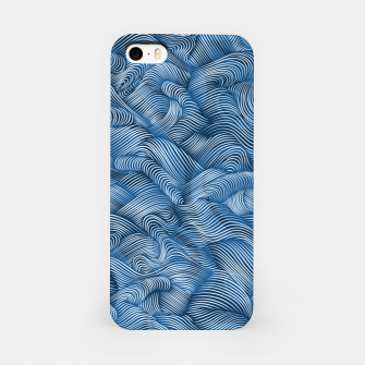 Thumbnail image of Ocean Waves in Classic Blue iPhone Case, Live Heroes