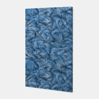 Thumbnail image of Ocean Waves in Classic Blue Canvas, Live Heroes