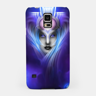 Miniatur What Dreams Are Made Of Ethereal Clouds Fractal Art Samsung Case, Live Heroes