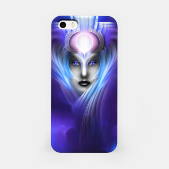 Miniatur What Dreams Are Made Of Ethereal Clouds Fractal Art iPhone Case, Live Heroes